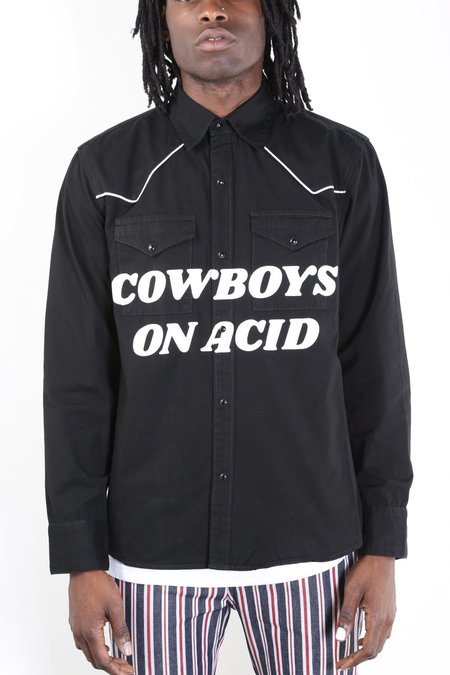 Pleasures Cowboys On Acid Button Up