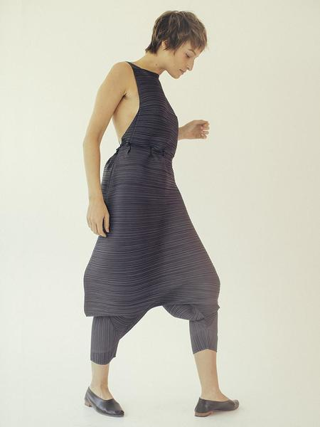Issey Miyake Open Back Jumpsuit - Dark Gray
