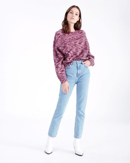 IRO Sweater - Pink/Black