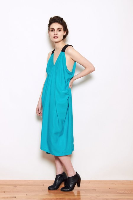 A.oei Studio Hybrid Dress - Turquoise