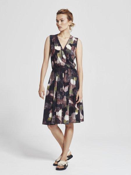 Juliette Hogan Solana Dress - Shade Daydream Silk