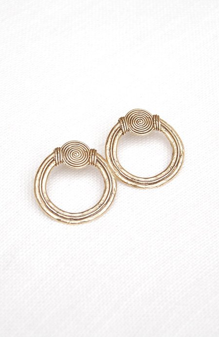 Hawkley Puerto Earrings - Bronze