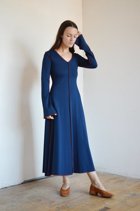 Eliza Faulkner Kate Dress - Navy Blue