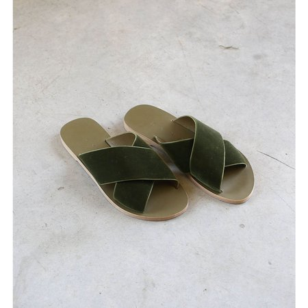Kyma Chios Sandals - Army Green