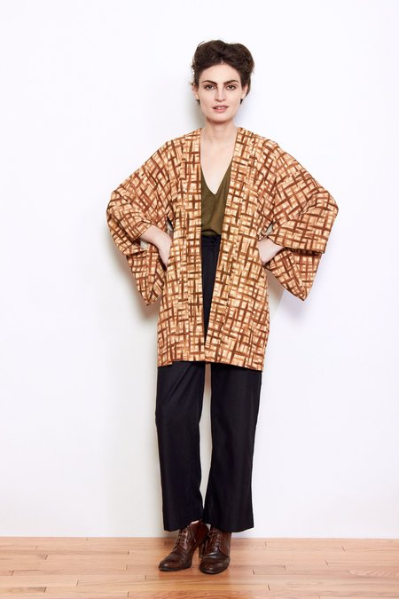 Vintage Imported Japanese The Wicker Man Kimono