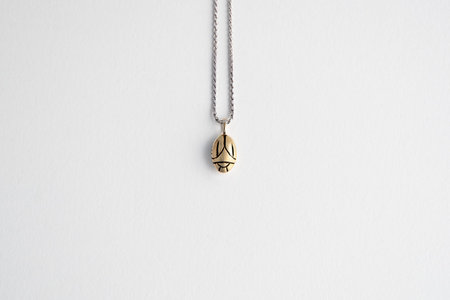 Muraco Wolfe Beetle Necklace - Gold