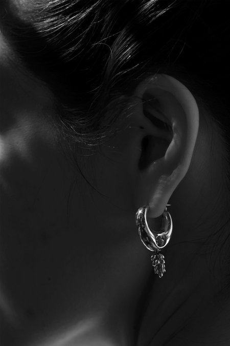 MM Druck Delphi Earrings - Sterling Silver