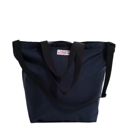 Unisex Battenwear Packable Tote Bag - Navy