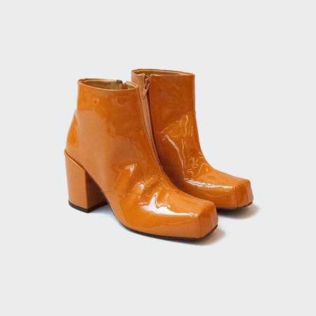 Aalto Chunky Ankle Boot - Honey