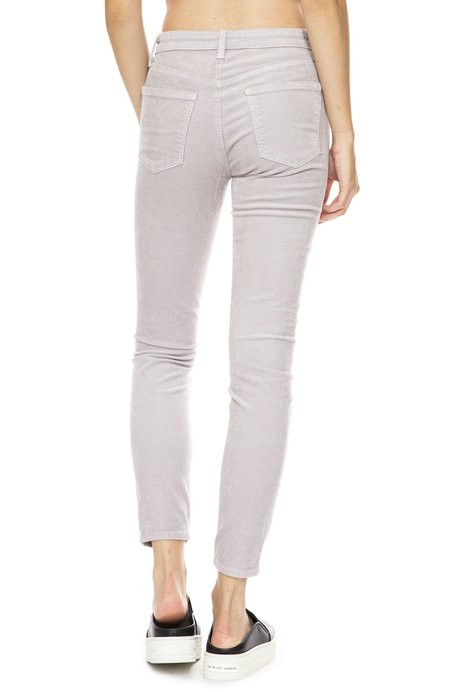 J Brand Alana High-Rise Cord Pants - Mars
