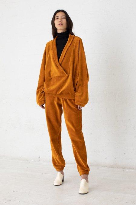 Baserange Houston Sweat Shirt - Theta Brown/Velours
