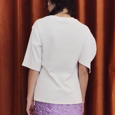Aalto T-Shirt with Asymmetrical Sleeves