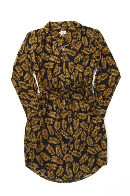 Bridge & Burn Emery Dress - Gold Leaf