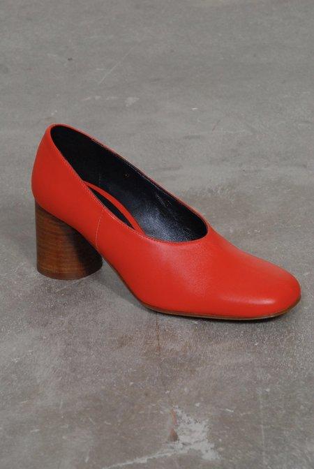 Creatures of Comfort Dina Pump Heels - Tomato