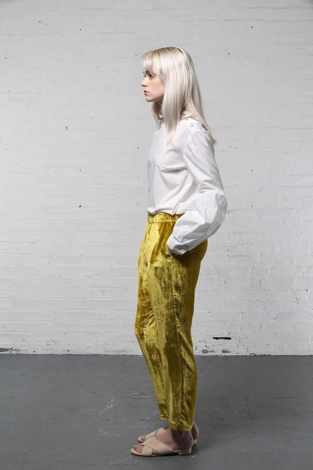 Creatures of Comfort Asher Pant - GOLD