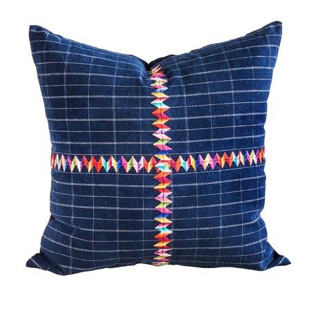 Valiente Goods Large Corte Pillow - Indigo