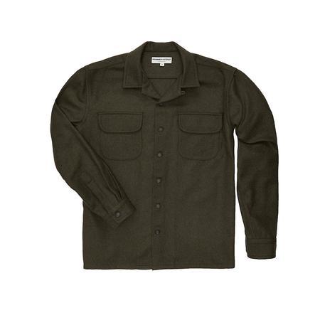 Krammer & Stoudt Cesar Two-Pocket Shirt - Olive