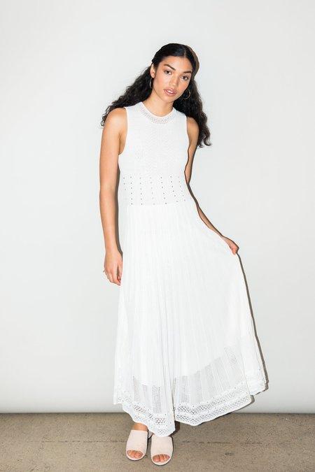 Ronny Kobo Ebrill dress - WHITE