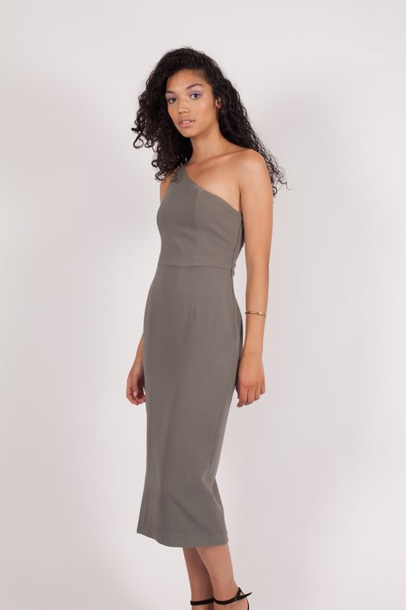 Finders Keepers Haunted Dress - Khaki