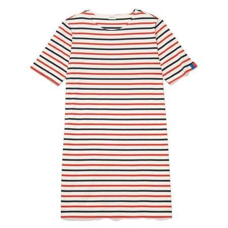 Kule Tee Dress - Navy/Poppy