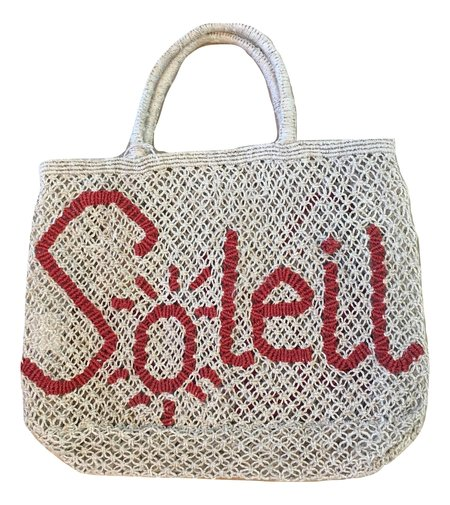 The Jacksons Jute Beach Bag