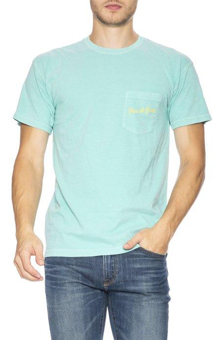 Free & Easy La Deli Pocket T-Shirt - Teal