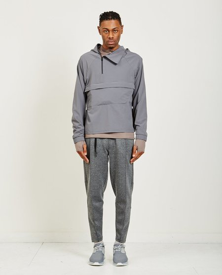 Siki Im FOLDABLE WINDBREAKER PULLOVER - TN GREY