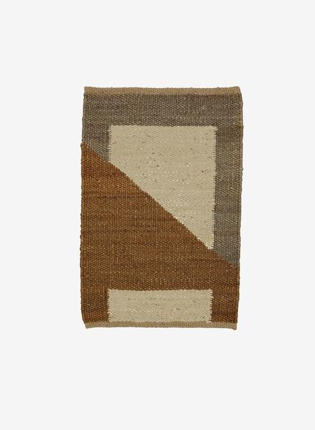 Tantuvi No. 7 Sand Hemp Rug - Brown