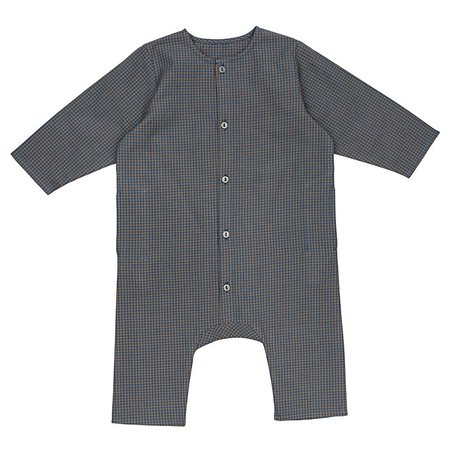 Kids Ketiketa Kumar Baby Overall - Small Check