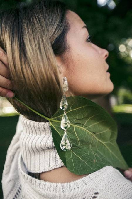 Tuza Perpetua Drop Earrings