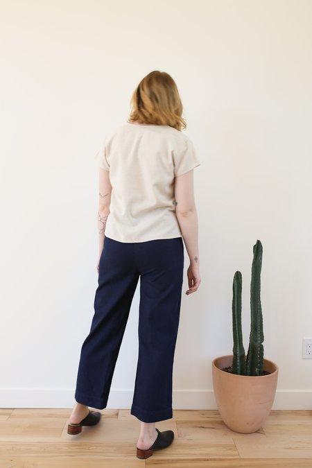 Ali Golden Straight Leg Pant - Cotton Denim