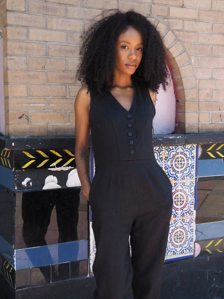 frnds of ours Ameel Jumpsuit N. 11 - BLACK