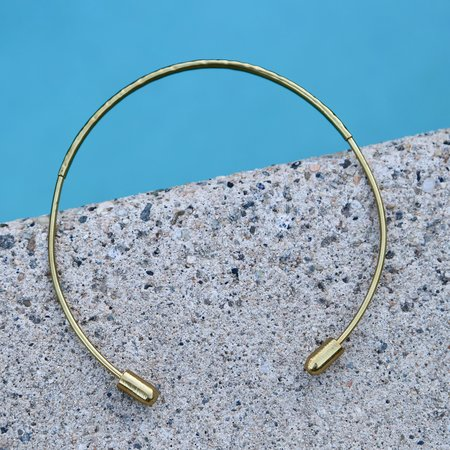 Formina Brass Open Collar