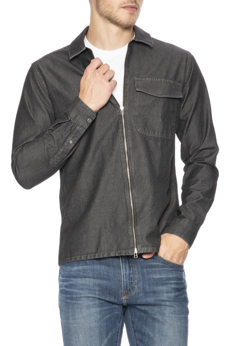 Schnayderman's Denim Zip Shirt