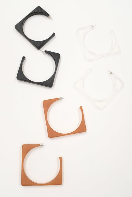 Rachel Comey Tuck Earrings