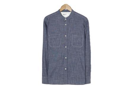 Universal Works Stoke Shirt - Chambray