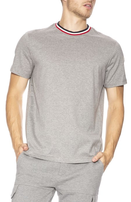 Moncler Striped Crew T-Shirt
