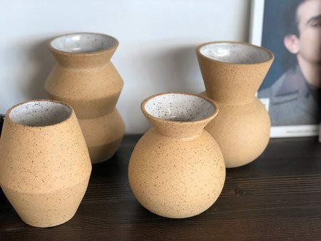 MiMi Ceramics Small Vases - Speckle