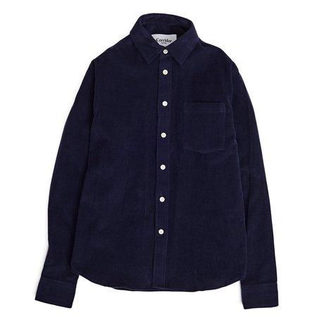 Corridor Navy Cord Long Sleeve Shirt - Navy