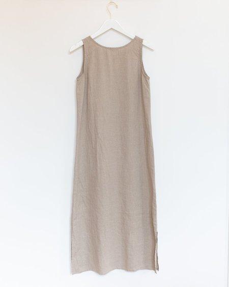 Fog Linen Work Leah Night Shirt - Natural