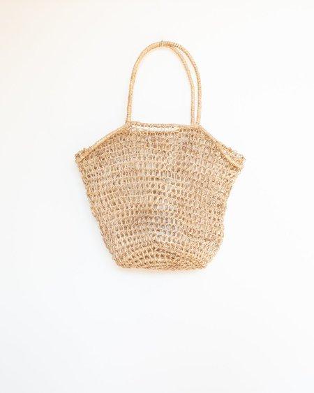 Abacá Marina Basket Tote -  Natural