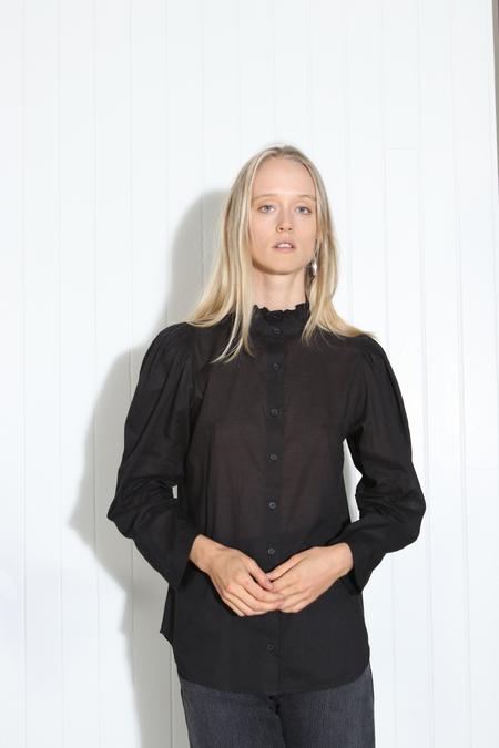 Apiece Apart Marijn Button Up - Black