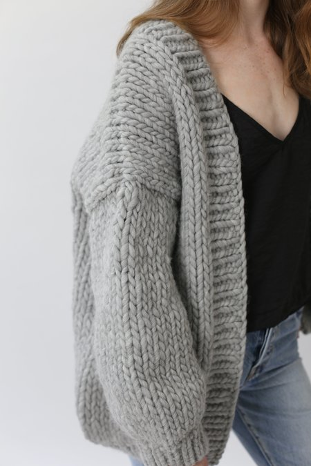 I love Mr Mittens The Cardigan - Light Grey