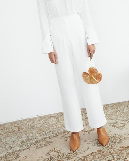 Nanushka Varsa High Waist Pants - Ivory