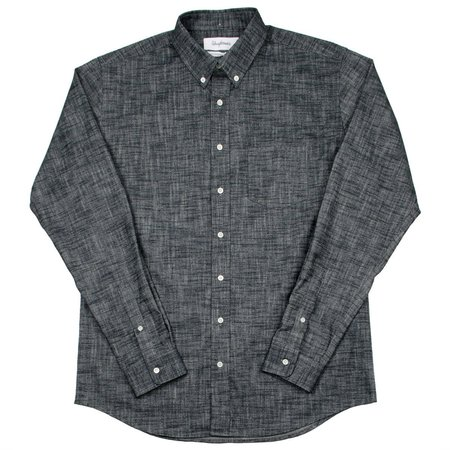 Schnayderman's Cotton Flamé One Shirt - Black