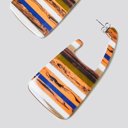 Rachel Comey Elsie Earrings - Layered Stone