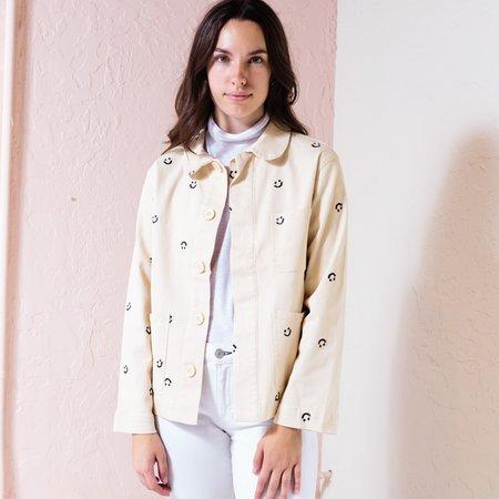 ban.do Smiley Work Jacket - Khaki