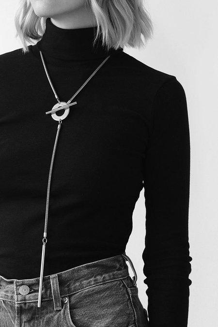 Jenny Bird Rhye Lariat - Silver