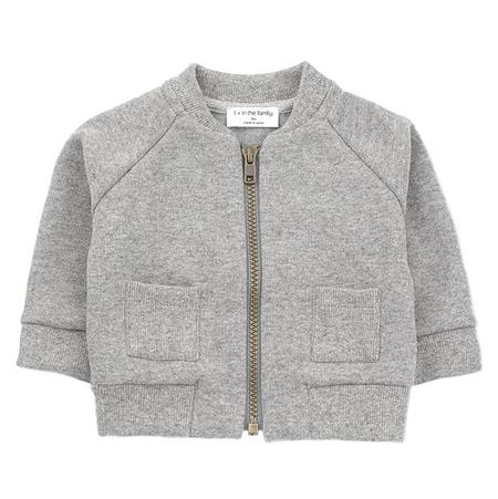 KIDS 1+ In The Family Baby And Child Robin Jacket - Light Grey
