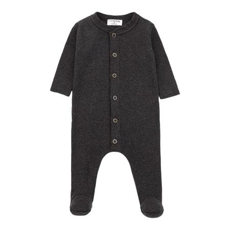 KIDS 1+ In The Family Baby Marcello Jumpsuit - Anthracite Grey